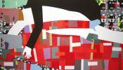 S00110AC - Schilderij matte acrylverf op doek 160x280 cm