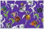 Z0080AA - Nwe tulips II klein, zeefdruk met hand ingekleurd, 70x100 cm